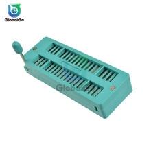 IC Lock Seat Test Universal Zif Sockets 16Pin 20Pin 28Pin 32Pin 40Pin 16P/20P/28/40P 3M Wide Narrow