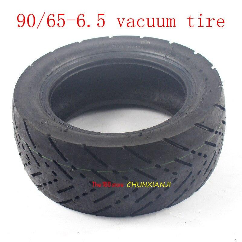 Высококачественная бескамерная шина для электрического скутера, 11 дюймов, толщина 90/65-6,5, наружная шина, вакуумная дорожная шина