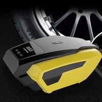 Tragbare 12V Auto Auto Elektrische Luft Kompressor Reifen Inflator Pumpe mit 2 8 m Lange Extended Power Kabel mit Zigarette leichter Stecker|Aufblasbare Pumpe|Kraftfahrzeuge und Motorräder -