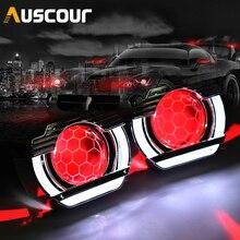 2.5 lenti per fari LED Angel Eyes lente bi xeno Devil Eyes proiettore per proiettori H4 H7 H1 accessori per luci auto Tuning