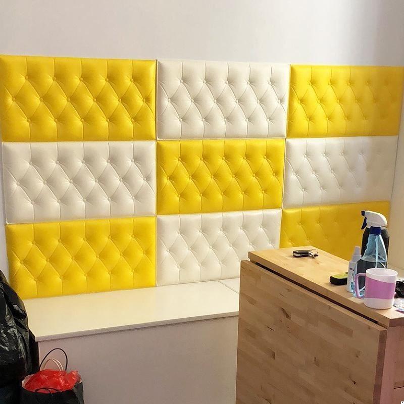 Testata Tete Lit Bois Cushion Testiera Letto Child Cabezal Kid 3d Wall Sticker Cabeceira Cabecero Cama De Pared Bed Headboard