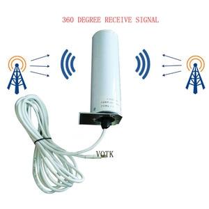 Image 3 - 90018002600 Tri Ripetitore DEL SEGNALE di banda 2G3G4G rete Ripetitore CELLULARE 4G LTE AMPLIFICATORE di SEGNALE CON 360 OMNI ANTENNA