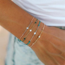 2019 New Luxurious Crystal Bracelet Silver Color Adjustable Infinity Charm Bracelets for Women Fashion Jewelry gvusmil alabama red white multi strands infinity silver color charm leather bracelet bangle for women fashion jewelry