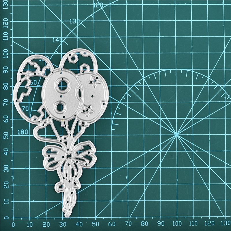 Celebrate Dies Balloon Metal Cutting Dies New 2019 For Craft Dies Scrapbooking Xmas Card Making Embossing Stencil DieCut