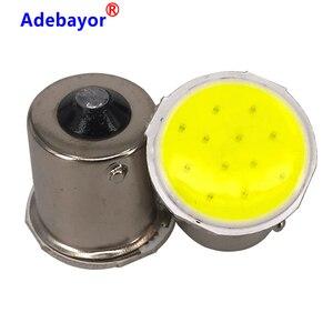 100x1156 BA15S 12 COB светодиодный автомобильный багажник внутренние чипы p21w RV трейлер задние поворотные сигнальные огни лампа автомобильные аксессуары белый|Сигнальная лампа|   | АлиЭкспресс