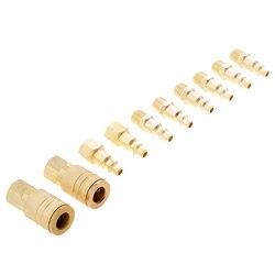 Acoplador do conector da liberação rápida do compressor de ar do elevado desempenho de 10 peças