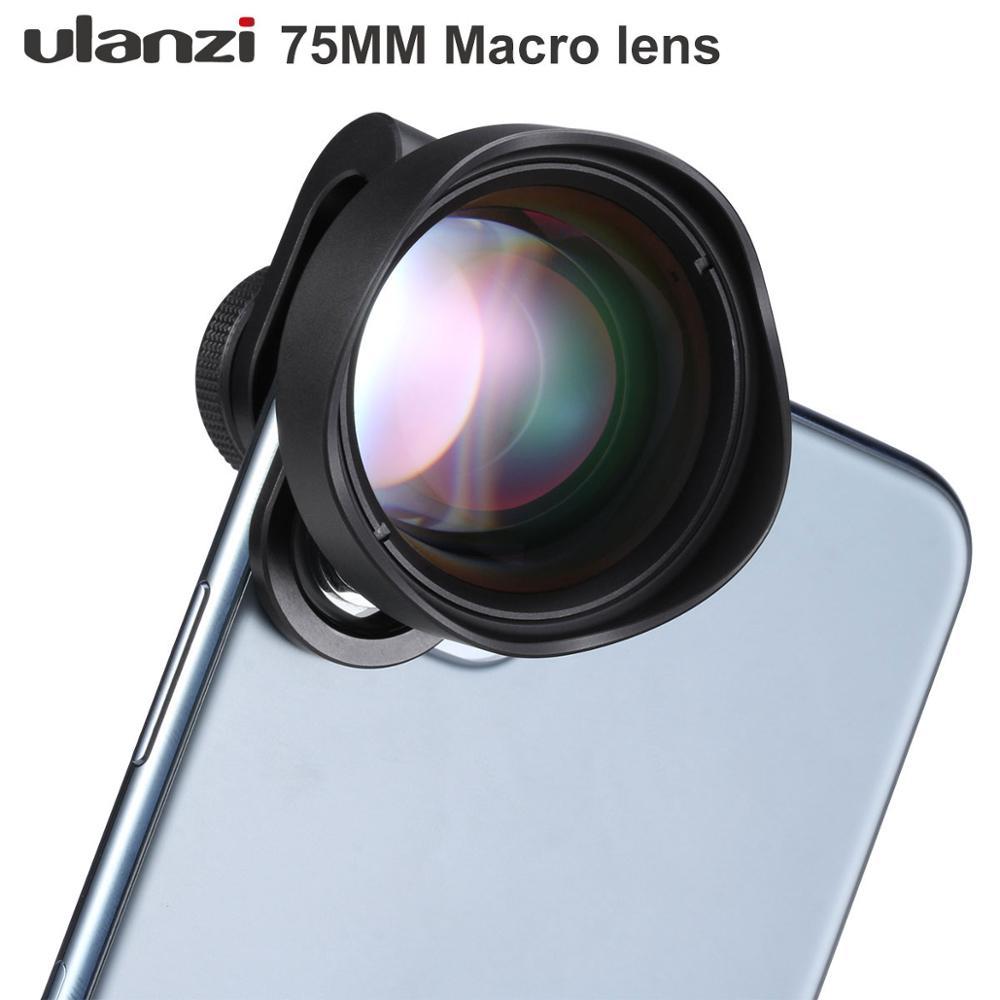 ULANZI 75mm Super Macro Lens Phone Camera Lens,Mobile Phone Lens for iPhone Pixel Samsung Galaxy OnePlus
