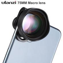 Ulanzi 10x lente da câmera do telefone macro lente de vidro óptico universal para android iphone piexl um plus xiaomi huawei
