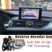 car camera interface adpator for audi a6l c7 a7 q3 VW Toutuareg 2016 2017 3GMMI system original screen update reverse decoder