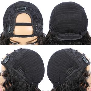 Image 5 - Волнипряди с застежкой, 3 пряди бразильских волос, пупряди с застежкой, человеческие волосы Remy, пучки с застежкой ALIPOP