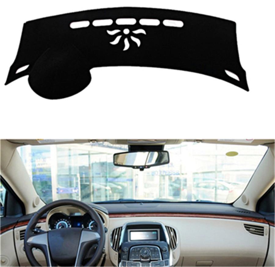 SJ Car Inner Auto Dashboard Cover Dashmat Pad Carpet Sun Shade Dash Board Cover Fit For Buick Lacrosse 2009 2010 2011 2012-2015