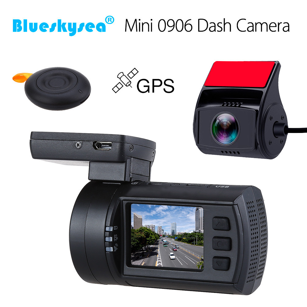 Dash Cam Super HD 1440P High Resolution Video ADAS FCWS SOS Emergency Saving GPS Tracking HDMI Output etc G-Sensor lDWS Function Black