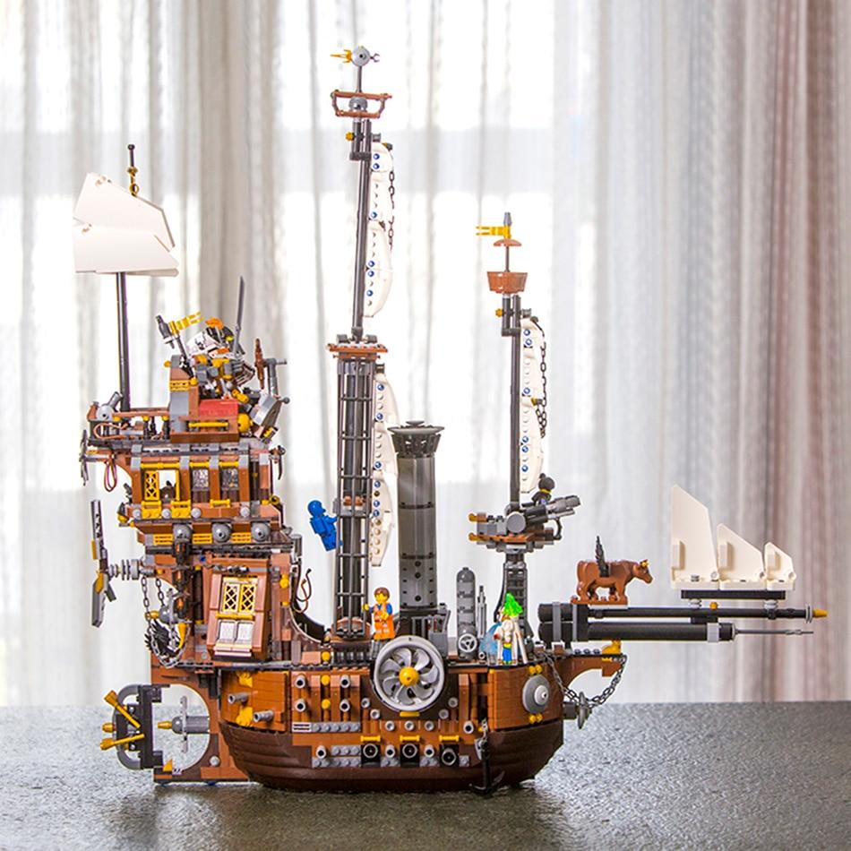 16002 MOC Pirate Ship Metal Beard/'s Sea Cow Building Blocks Bricks 2791pcs