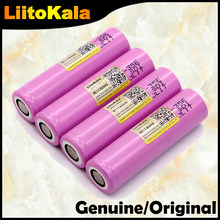 Echte 1-10PCS Liitokala 35E original power 18650 lithium-batterie 3500mAh 3,7 v 25A high power INR18650 für elektrische werkzeuge