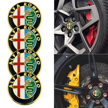 Car Decal Emblem-Accessories Badge Logo-Stickers Mito-Tags Alfa Giulietta Alpha Romeo