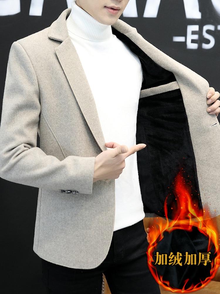 Grey Winter Stylish Blazer Men Casual Designs Slim Fit Formal Jackets Men Classic Blazers Traje Lentejuelas Gents Suits JJ60XX