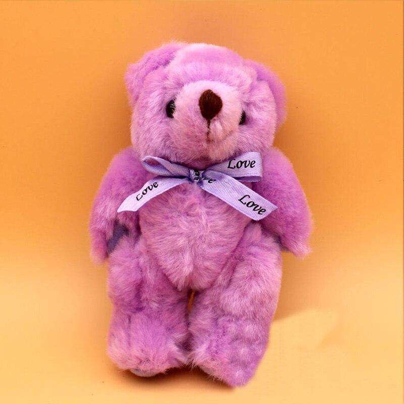 13cm 9 Color Joint Teddy Bear Cute Beautiful Plush Toy Doll Doll Boy Girl Christmas Gift Stuffed Animal Cartoon Plush Toy WJ032