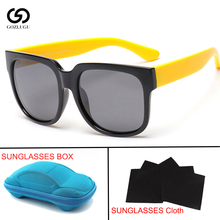 Children baby polarized sunglasses girl black glasses boy 1.5-15 years old children