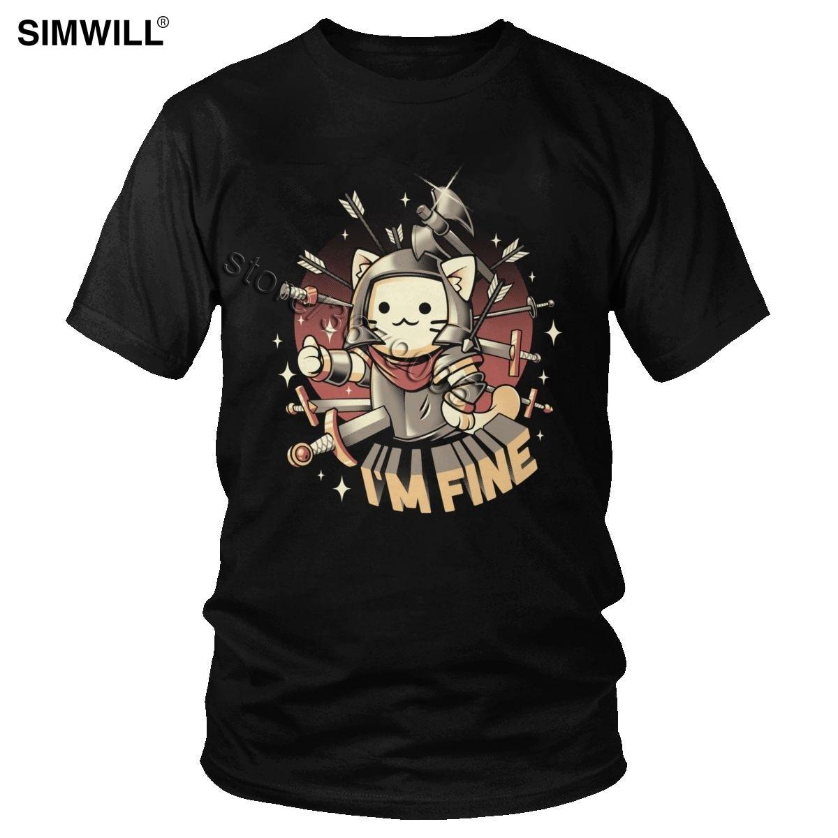 I/'M Fine Poor Girl Crying Feel Bad TUMBLR Fashion T Shirt Men Women Unisex 1392