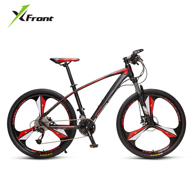 Mountain Bike Aluminum Alloy Frame Bicicleta Hydraulic Disc Brake Lockable Front Fork 33 Speed 26 27.5 Inch Wheel Bicycle