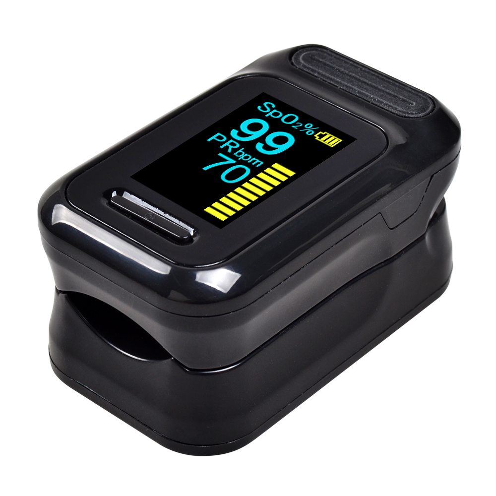 ELERA Finger Pulse Oximeter with OLED Display to calculate Blood Oxygen Saturation