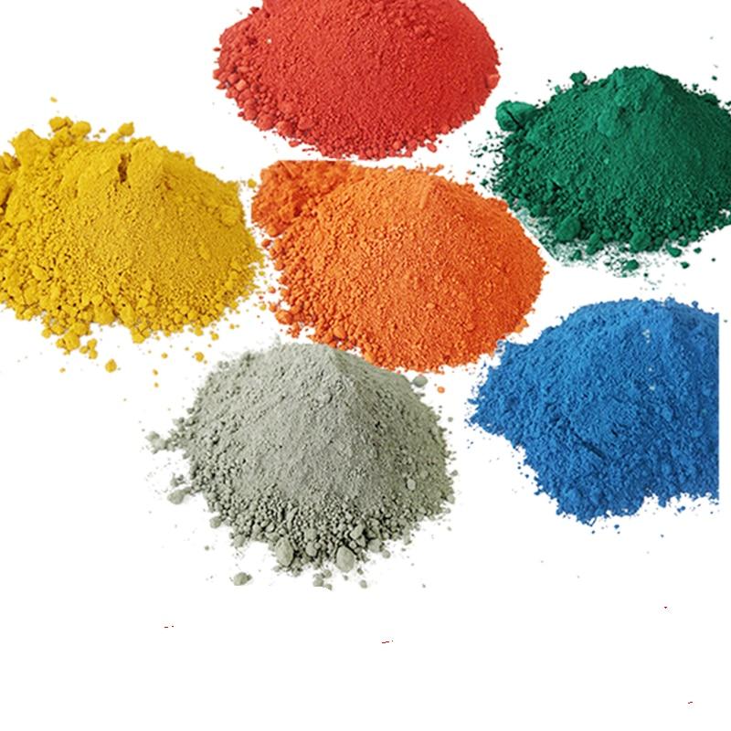 500g Cement Color Powder Pigment Powder/Iron Oxide Pigment /DIY Manually Paving Concrete Molds