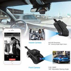 Image 2 - JIMI JC200 3G GPS Tracker double lentille caméra de tableau de bord en direct caméra vidéo de voiture en Streaming avec 1080P WIFI SOS surveillance à distance par APP & PC
