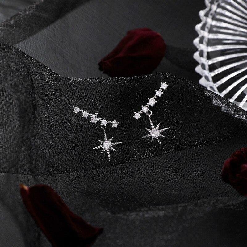 Classic Crystal Geometric Women Dangle Earrings Zircon Octagonal Earrings Fashion Earrings For Women 2019 Statement