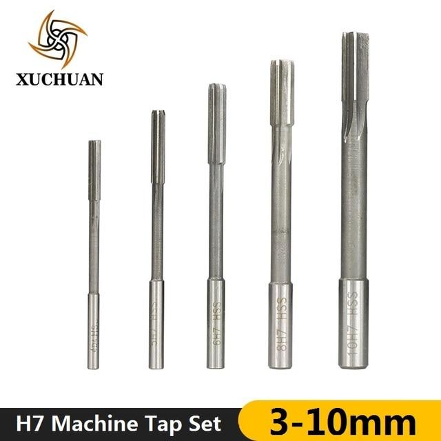 1PC Chucking Reamer HSS Straight Shank Chucking Hand Reamer Core Drill Bit 10mm