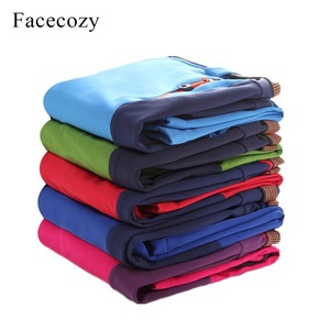 Image 3 - Facecozy Kids Winter Thicken Outdoor Sports Pants With Fleece Windproof Warm Softshell Trousers Children Adventure Camping Pants