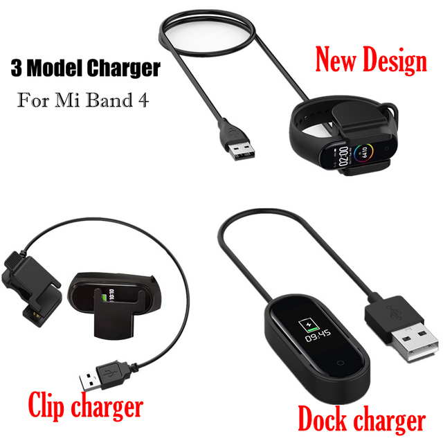 Charger Cable For Xiaomi Mi Band 3 4 Miband 3 Smart Wristband Bracelet Mi band 2 Charging cable Band4 USB Charger Adapter Wire 2
