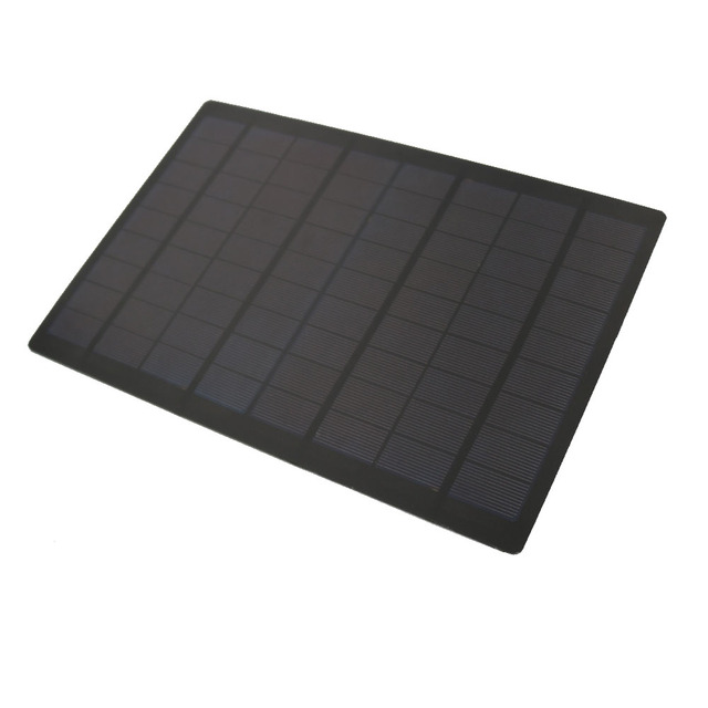 18V 9W Solar panel Mini Solar System DIY For Battery Cell Phone Charger Portable Module Polycrystalline Solar Cell