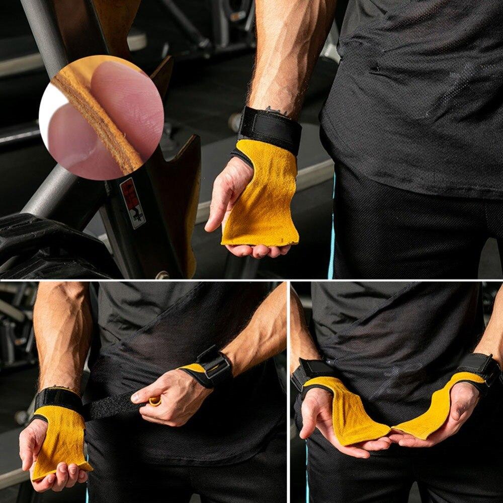 Luvas de Fitness Ginásio Luvas Palma Proteção
