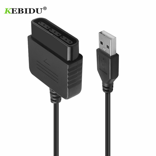 For Sony PS1 PS2 PlayStation Dualshock 2 Joypad GamePad to FOR 3 PS3 PC USB Games Controller Adapter Converter without Driver