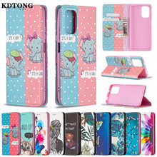Painted Flip Leather Phone Case for Xiaomi Redmi 9A 9C Note 10 9 8 8T Pro 4G Capa Card Solt Wallet Magnetic Stand Protect Cover