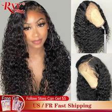 Onda profunda peruca frontal encaracolado peruca do cabelo humano 360 cabelo humano laço frontal perucas para preto feminino rxy remy frente do laço perucas de cabelo humano