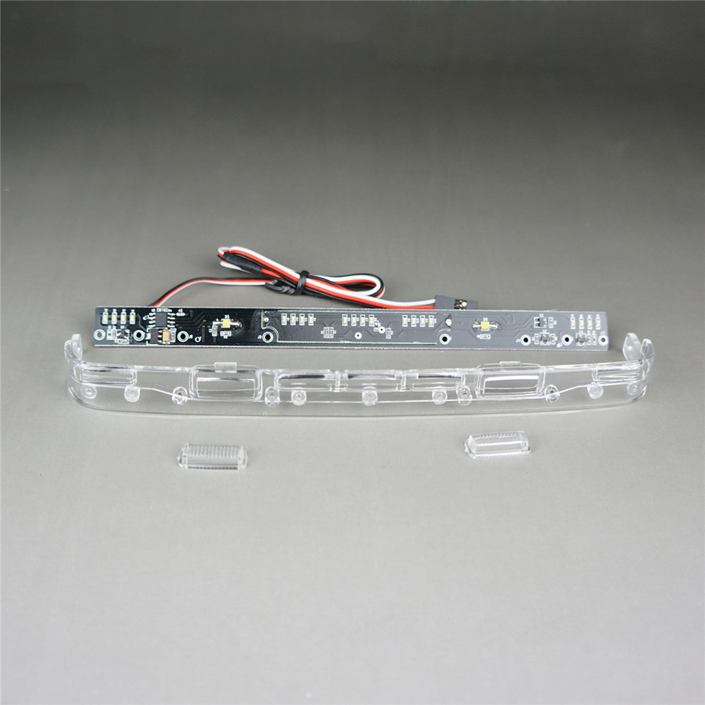 1/14 For Tamiya Scania RC Trucks LED Top Head Fog Light Bar Set 