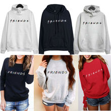 Mens Womens FRIENDS Print Hoodie Sweatshirt Hoody