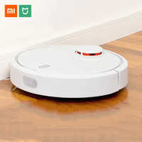 Original Xiaomi Mijia MI Robot aspiradora para el hogar esterilizador automático de polvo de barrido inteligente planificado aplicación de Control remoto