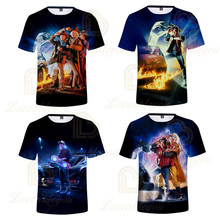 2020 New Arrival Movie Boys and Girls 3D Print Short T-shirt for Kids Birthday Gift Summer O Neck Tee Shirt Tops forrest gump romance drama movie peas and carrots juniors v neck t shirt tee