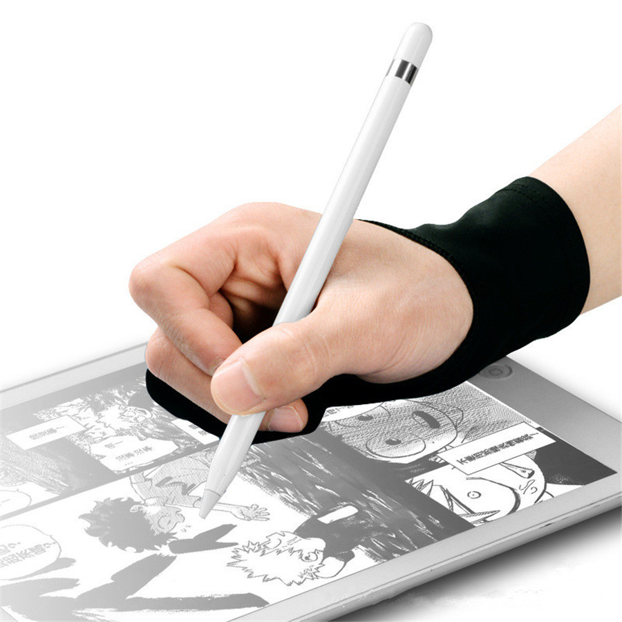Fingerless Artist Graphics Tablet Painting Supply Mittens Drawing Glove
