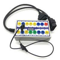 Neue OBDII Protokoll Detector Auto OBD Break Out Box Breakout Werkzeug OBD2 Pin Out BOX