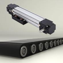 Linear Bearing CNC Belt Drive Motion Actuator Guide Rail 100mm Stroke