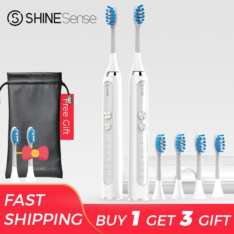 ShineSense STB200 brosse à dents sonique électrique Xiaomi Mijia brosse à dents Ultra sonique automatique mise à niveau USB rechargeable adulte étanche IPX7