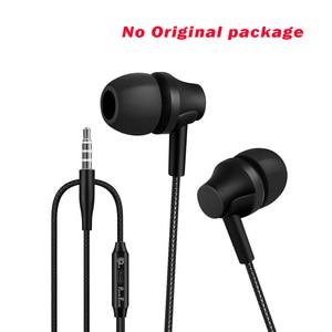 Image 5 - PunnkFunnk metalowe głębokie basowe słuchawki Stereo sportowe słuchawki W/Mic regulacja głośności dla iphone 6 7 8 x samsung s10 s9 s8 s7 note9 j3