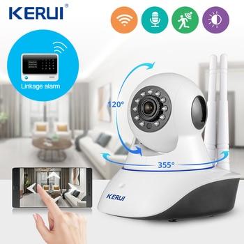 KERUI  Yoosee app Wifi Wireless Home Security IP Camera Security Network CCTV Surveillance Camera Night Vision For Home Alarm