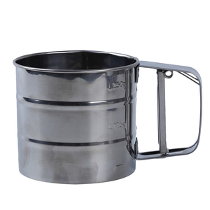 Image 4 - Stainless Steel Mesh Flour Sifter Mesh Flour Bolt Sifter Manual Sugar Icing Shaker Mechanical Baking Shaker Sieve Kitchen Tools
