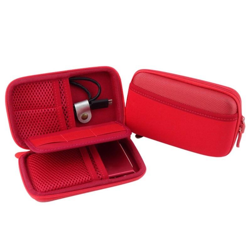 Product Accessories Anti-Shock Digital Electronic Storage Bags Portable Hard Disk Case Bag Storage Bag Organizer