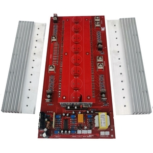 24V3500W, 48V6500W, 60V9000W, 72V12000W 220V pure sine wave inverter semi-finished motherboard (24 tubes)