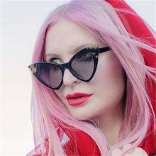 Солнцезащитные очки «кошачий глаз» женские классические винтажные